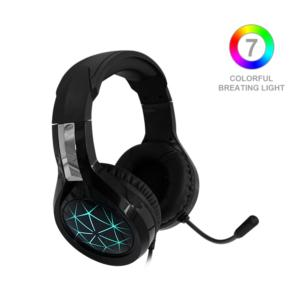 Gaming Headset Xbox One Headset with 7.1 Surround Sound  PS4 Headset with Noise Canceling Mic & LED Light  Compatible with PC  PS4  Wired PC Headphones for Online Class  Cell Phone