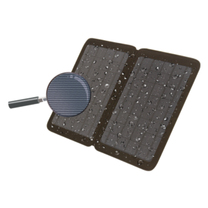 Leather Solar Mobile Phone Charger