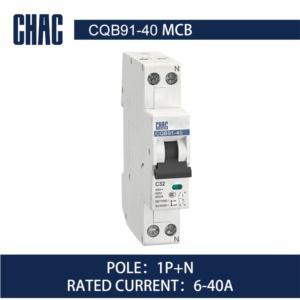 CQB91-40 6kA Miniature Circuit Breaker