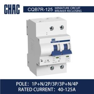 CQB7R-125 10kA Miniature Circuit Breaker Reclosing