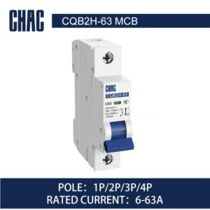 CQB2H-63 10kA Miniature Circuit Breaker