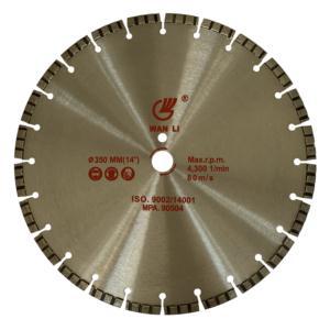 Diamond Laser Welded Blade