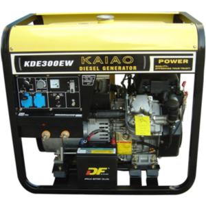 5KW 5.5KW Open type Diesel Generator Set KDE300EW