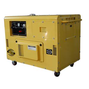 10KW 5.5KW Open type Diesel Generator Set KDE12T