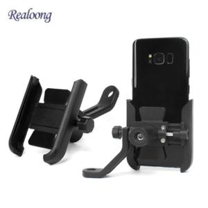 Durable Phone Holder for Motorcycle Phone Bracket for Bike Universal With USB Charging or WIthout USB charging