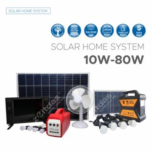 10-80W Solar Home Syste