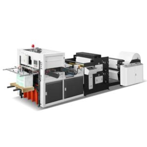 die cutting with printing machine 2 colors
