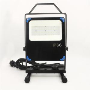 Portable optical flood light