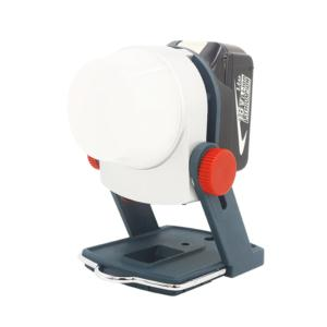 LED work light adapted with power tool battery