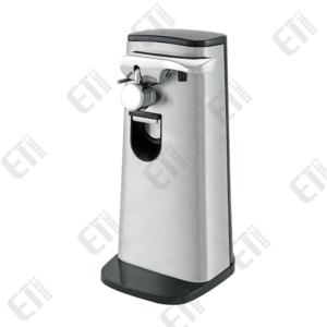 Electric Can Opener With Knife Sharpener  Magnetic Lid Holder