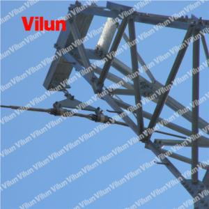 Helical Suspension clamp for OPGW fiber optical cables
