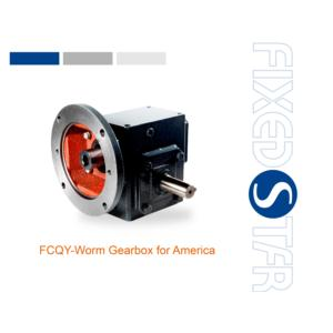 inch cast iron worm gearbox