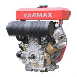 Yarmax Double-cylinder Air-cooled Diesel engine (18HP, 19HP, 20HP, 22HP)