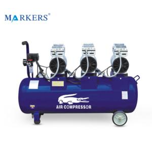 High pressure dental mobile no noise oil free electric air compressor
