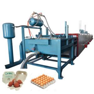 Small 1000pcs/h pulp molding egg tray making machine