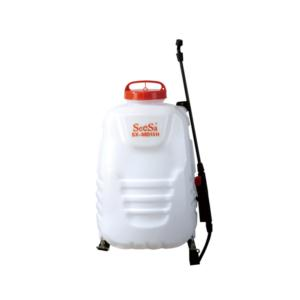 16 liter portable knapsack electric pressure agriculture garden water sprayer with voltmeter and elastic wand