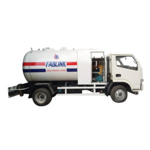5000 liters LPG bobtail (LPG tank truck )