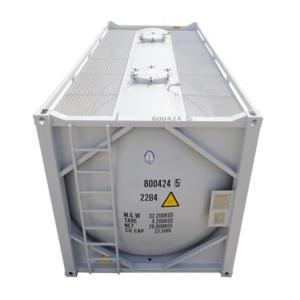 20FT Cryogenic ISO tank container for CO2