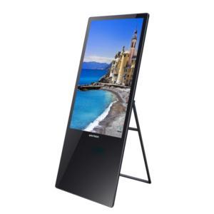 Portable LED Advertising Floor Standing Display Digital Signage/Digital Signage Photo Kiosk/Network