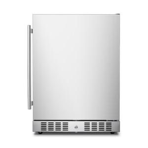 145L high quality stainless steel outdoor refrigerator