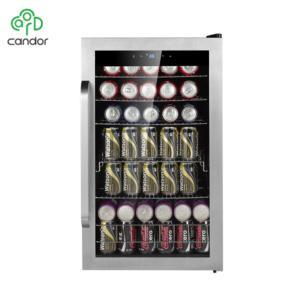 Candor: 95L Compressor Top Beverage Cooler / Display Fridge/ Bar Fridge JC-95