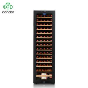Factory wholesale 75 bottles compressor cooling display refrigerated wine cooler cellar cabinet 2020