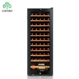 Factory wholesale 55 bottles compressor cooling display refrigerated wine cooler cellar refridge 2020