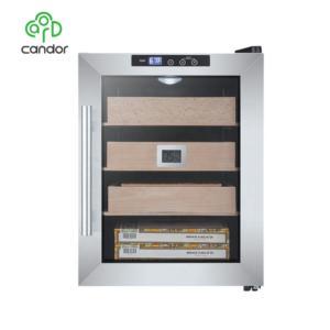 Candor: High End Thermo Electronic Cigar Humidor loading 250pcs Cigar /Spanish Cedar Shelf/ ETL  CE  Rohs approvals CH-33