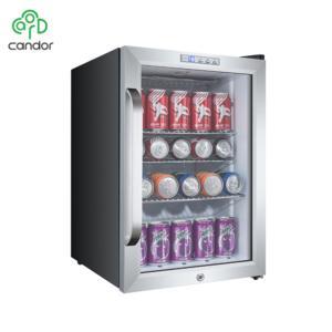 Electric commercial Led display fridge beverage cooler of JC-62