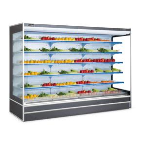 Vegetable Fruit Upright Commercial Open Display Chiller in Supermarket (HG-20)