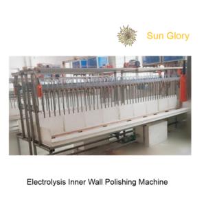 Sun Glory Inner Vacuum Flask Stainless Steel Water Bottle Electrolysis Polishing Machine