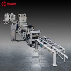 Automatic multi spot welding machine with wire feeder for preformed wall frame