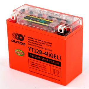 Capacity Intelligent Detected Motorcycle BatteryYT12B-4(IGEL)