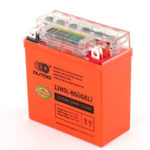 Intelligent Detected Motorcycle Battery12N5L-BS(IGEL)
