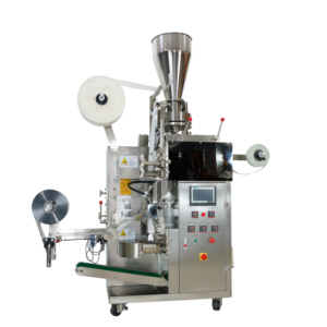 169Tea bag packing machine with outer envelope