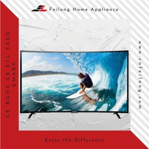 32inch Curve FHD SMART DVB-T2 DVB-S2 ISDB-T ATSC LED TV