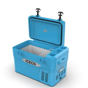 ICECO YD42 Car Fridge with Compressor  Portable Refrigerator Freezer 12v/24v 110-240v for Outdoor Ca