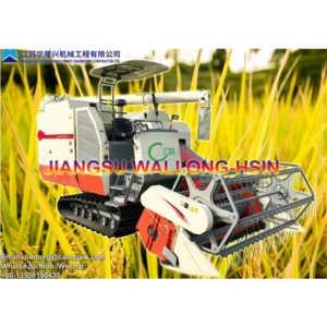 Self-propelled Full-Feed Crawler Combine Harvester CA-128