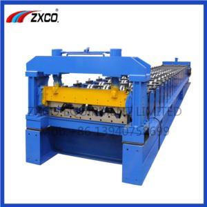 FLOOR DECKING SHEET ROLL FORMIGN MACHINE