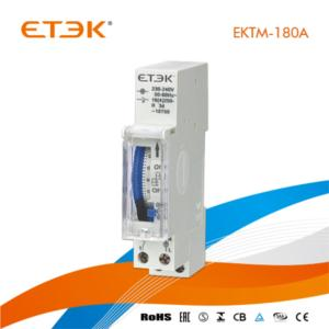 DIN Rail Mounted 24 Hours Ce Timer Relay 16A