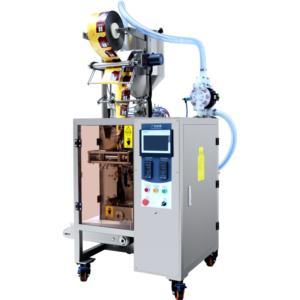 Full pneumatic liquid packaging machine
