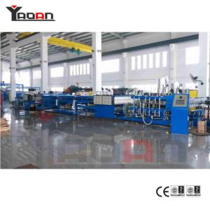 PC PP Flute Hollow Profile Sheet Board Extrusion Machine