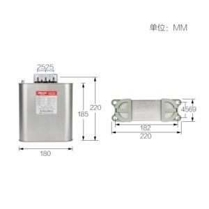 high capacity microwave capacitor