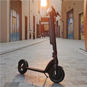 Two wheel 350W 10-inch 10AH  Foldable Electric Scooter--Battery Removable