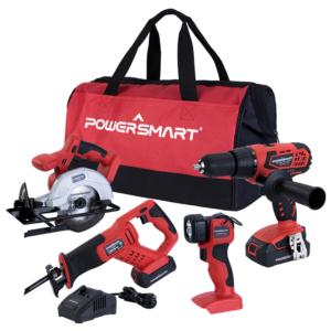 4-in-1 20V cordless combo kit PS76400C