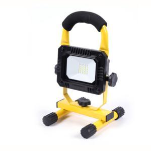 LED rechargable flood light