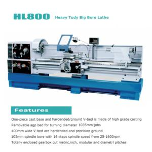 Heavy Duty Big Bore Lathe