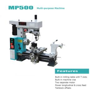 Combo Lathe-Mill-Drill Machine