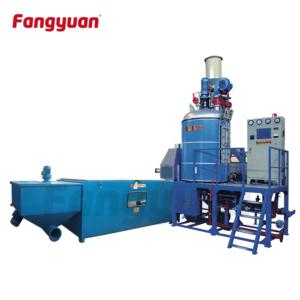 Fangyuan expandable Polystyrene batch Pre-expander machine for EPS foam expansion