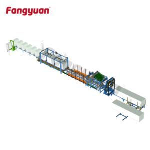 Fangyuan customizable fully automatic polystyrene hotwire eps foam cutting machine continuous cuttin